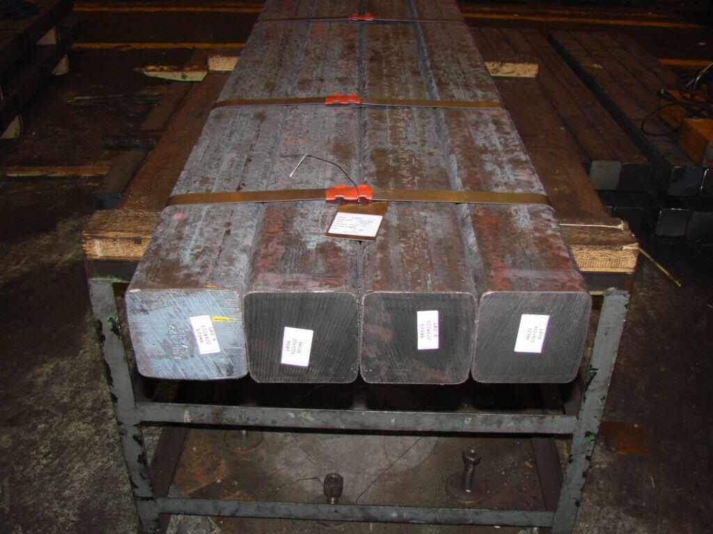 square bars 122x122 mm